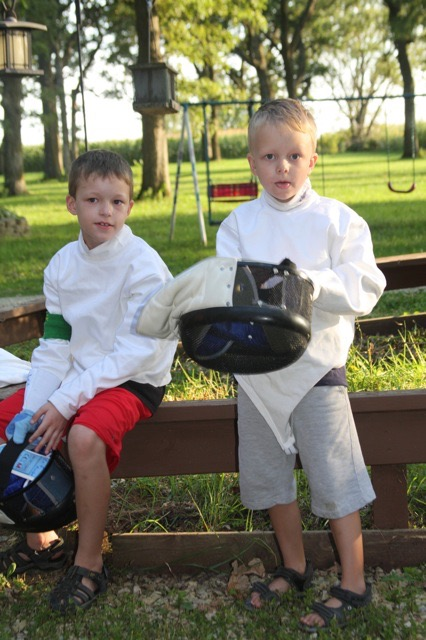 Family Fencing Tourney
