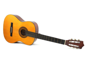 Classical guitar using nylon strings