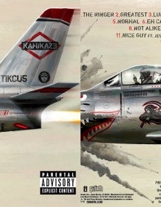 Eminem   new album is out kamikaze its name and it contains  wide variety of rap songs the was released without any prior notice also takes music industry by storm rh youthexpress
