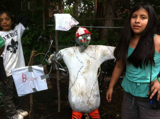 A Truly Scary Scarecrow