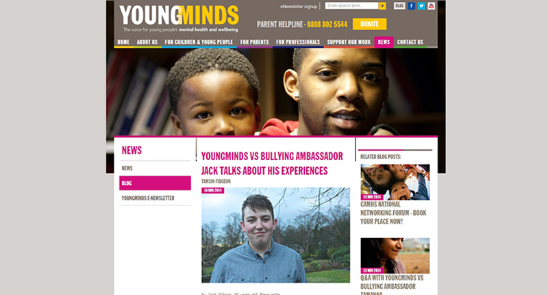 YoungMinds vs blog