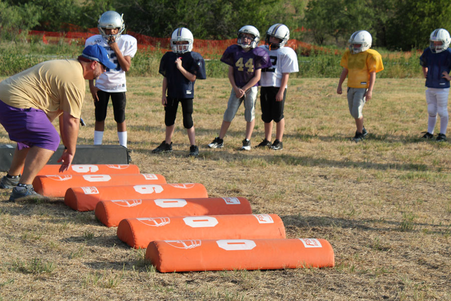 coaching youth football fundamentals / basics