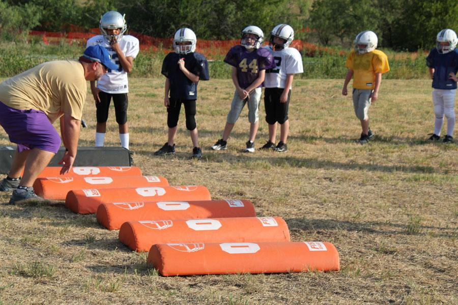 coaching youth football fundamentals / basics