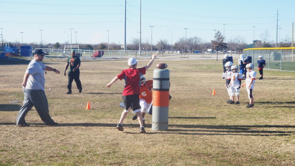 youth football tackling fundamentals