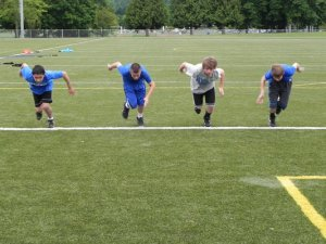 Off-Season Youth Football Camps and Clinics