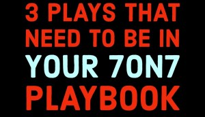 3 Must Have Flag 7 on 7 Football Plays