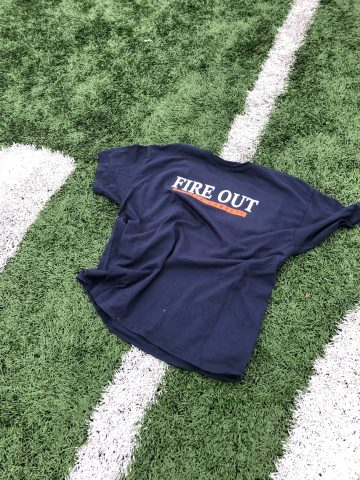 Fire Out - Always Compete Football T-Shirt