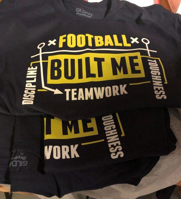 Football Built Me T-Shirt