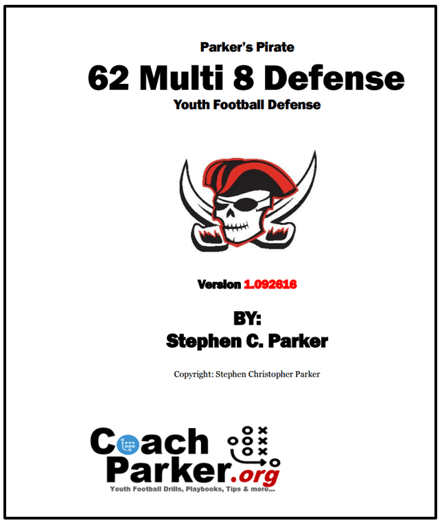 Buy My 62 Multi 8 Youth Football Defense Book