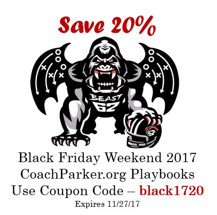 Youth Football Playbooks on Sale