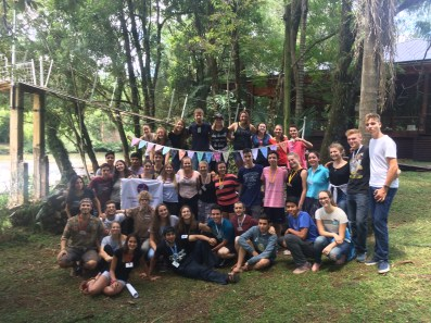 Participantes del Deutschcamp in Misiones, Argentina