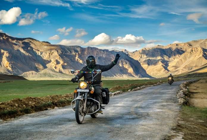leh ladakh bike riding
