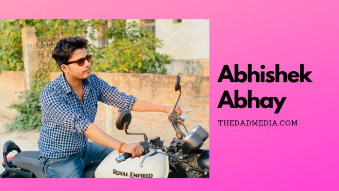 Abhishek Abhay, thedadmedia.com