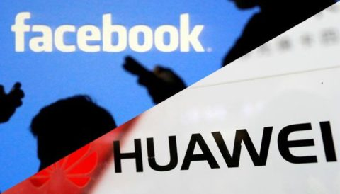 فيسبوك هواوي