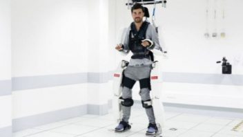 Paralyzed Man is Able to Walk Again