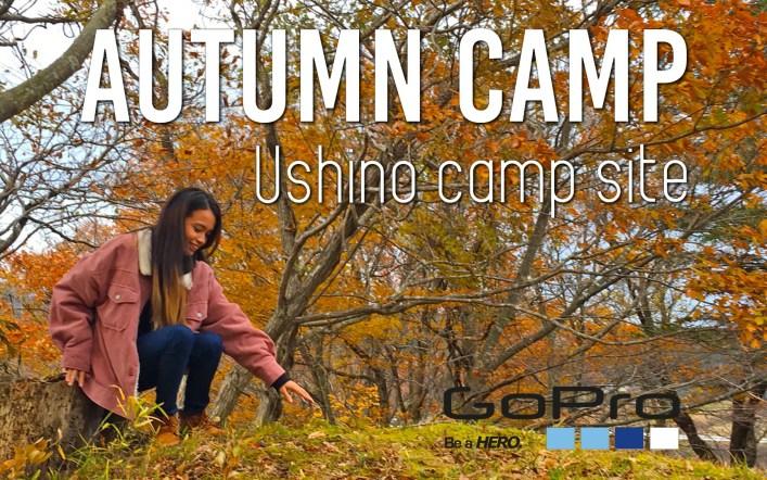 秋の牛野ダムキャンプ Autumn Camp Ushino camp site