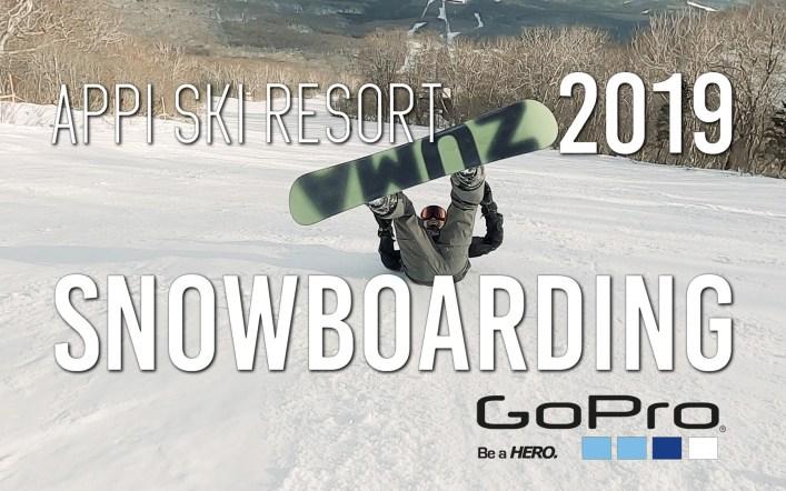 2019-2020 シーズン初 安比スノボ APPI Snowboarding  GoPro HERO8