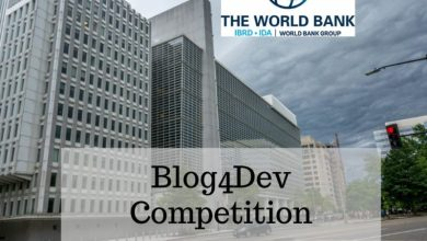Photo of WORLD BANK'S BLOG4DEV 2021 COMPETITION: PUT YOUR BLOGGING SKILLS TO THE TEST!