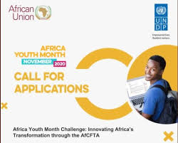 Photo of AfCFTA AFRICA YOUTH MONTH POLICY 2020 INNOVATIVE CHALLENGE