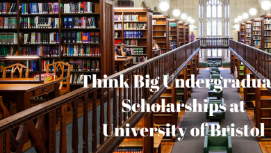 Photo of UNIVERSITY OF BRISTOL IN THE UK THINK BIG SCHOLARSHIPS 2021