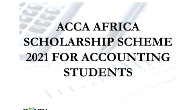 Photo of ACCA AFRICA SCHOLARSHIP SCHEME 2021 FOR ACCOUNTING STUDENTS