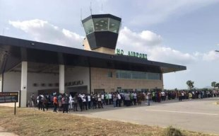 Ho airport open