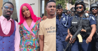 Afia Odo arrested video fic the country now