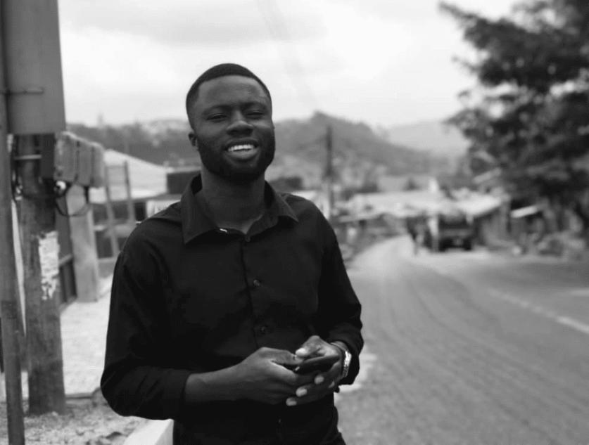 The founder of TE-YEC, young entrepreneurs club ghana