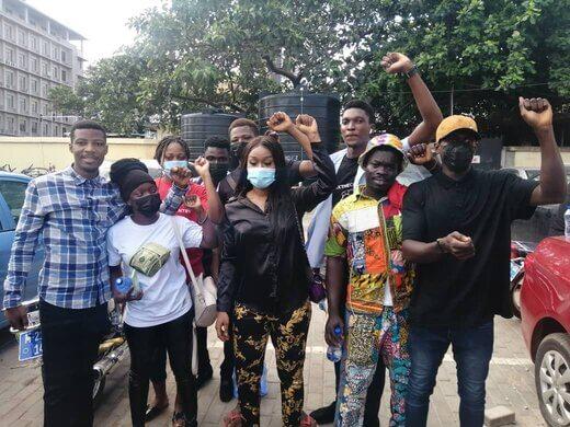 Efia Odo released from police custody