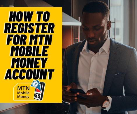 How To Register For MTN Mobile Money In Ghana
