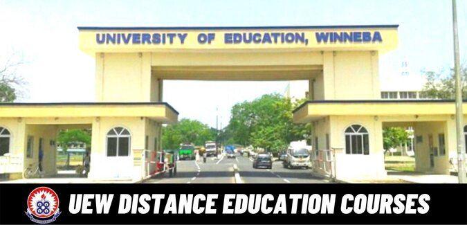 uew distance courses