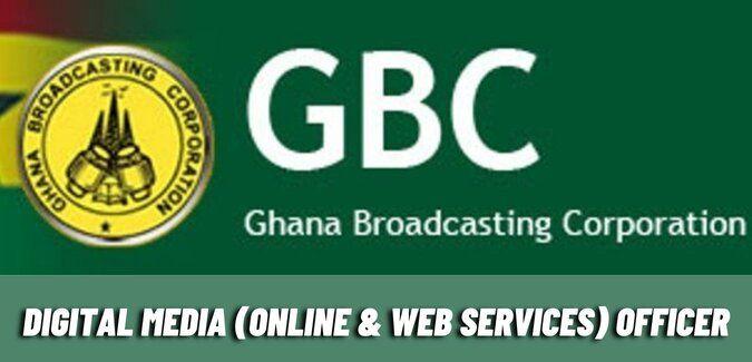 Digital Media (Online & Web Services) Officer needed at GBC