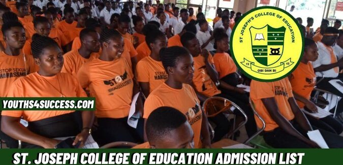 St. Joseph College Of Education Admission List