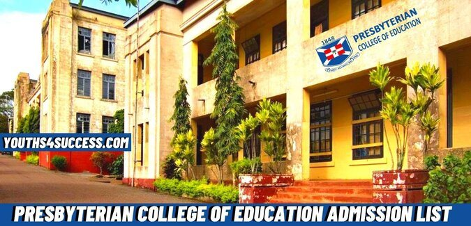 Presbyterian College Of Education Admission List