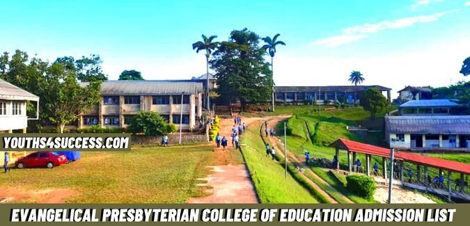 Evangelical Presbyterian College Of Education Admission List