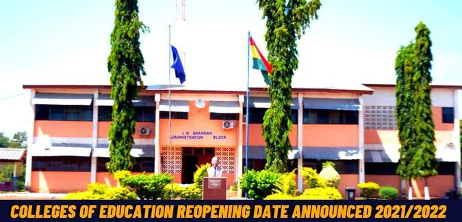 Colleges of Education reopening date announced