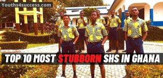 Top 10 Most Stubborn SHS In Ghana