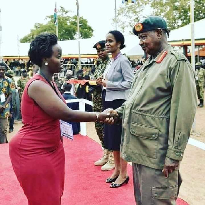 Slay Queen Confuses Commander In Chief Of Ugandan Forces  Youth Village Kenya