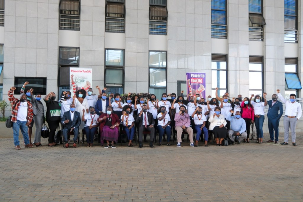 Power to Youth Malawi Launch Group Photo - Youth Wave