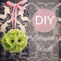 DIY Flower Girl Pomander Ball: Guest Florist Tracy