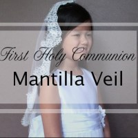 How to make the First Communion Mantilla Veil