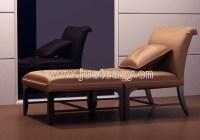 Single white cushion sofa, single sofa, sofa chairs