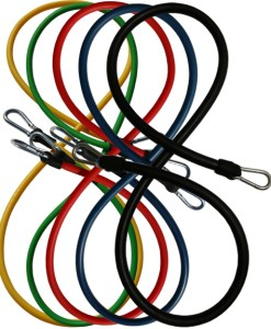 5 Colors Single Resistance Band Clips