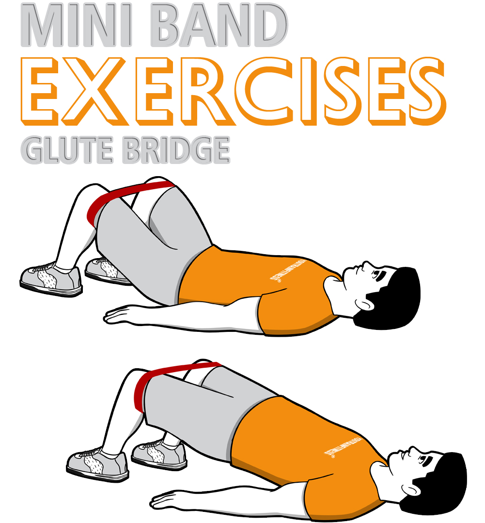 20 Mini Band Exercises   Chest, Back, Shoulders, Arms, Core ...