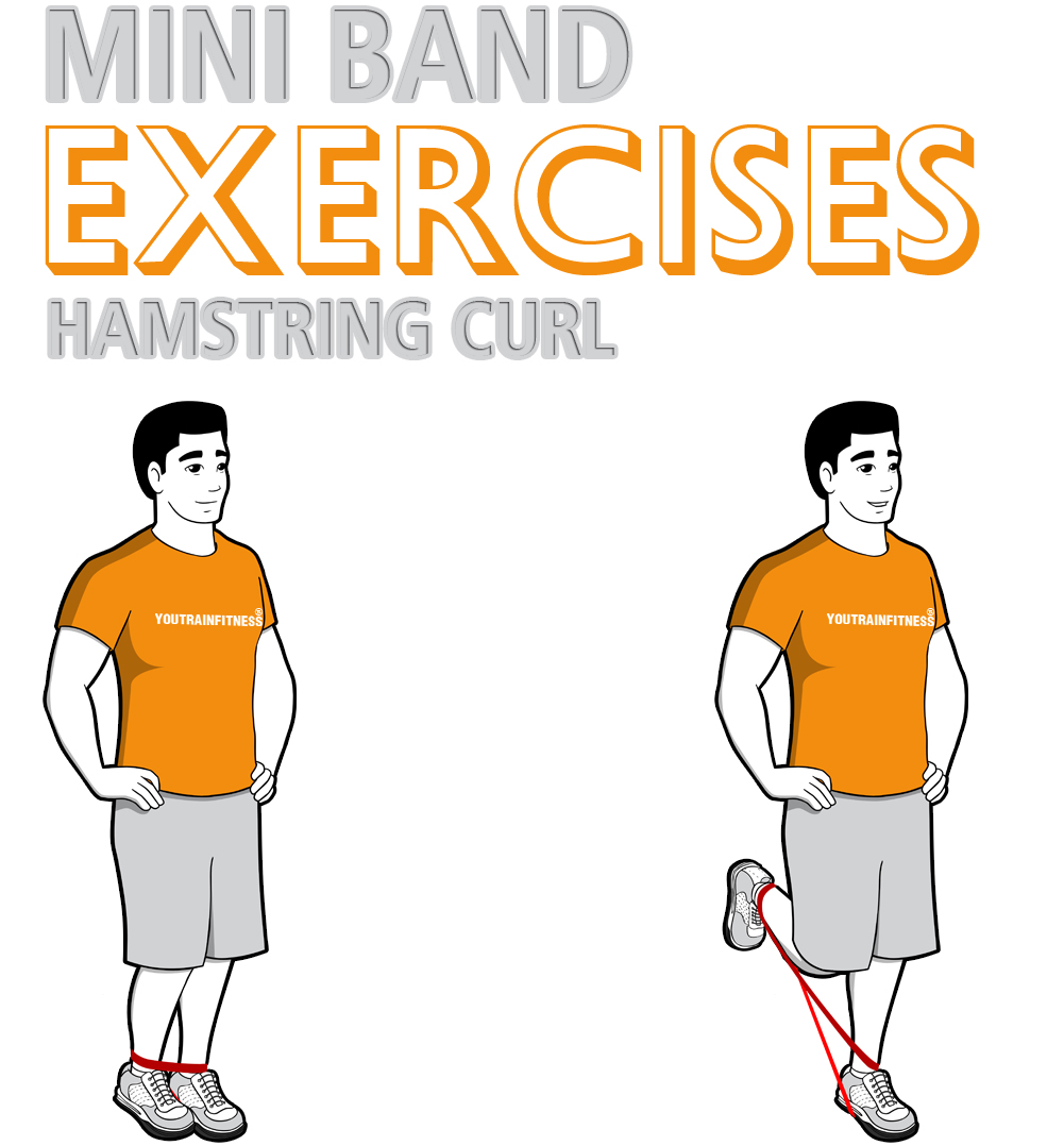 Mini Band Hamstring Curl