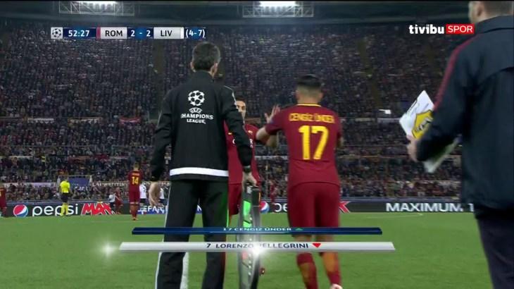 UEFA Şampiyonlar Ligi Yarı Final | Roma 4-2 Liverpool Maç Özeti