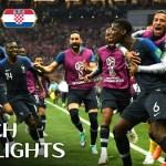 France v Croatia – 2018 FIFA World Cup™ FINAL – HIGHLIGHTS
