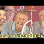 5 Opas rauchen zum 1. Mal SHISHA