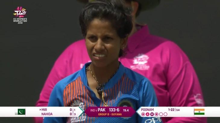 India v Pakistan – Women's World T20 2018 highlights