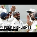 India have Australia on the ropes   First Domain Test
